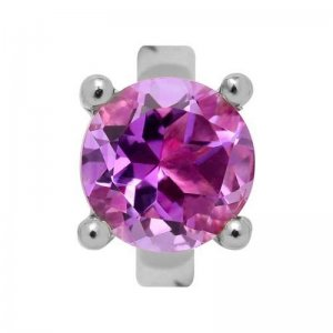 Endless Silber Element Round Amethyst 21354