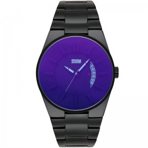 Storm Uhren Herrenuhr Blackout Lazer Blue