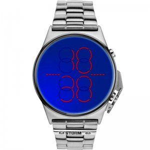 Storm Uhren Herrenuhr Digimec Lazer Blue