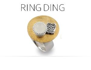 Ring Ding individuelle Silberringe - gestalten Sie mit diesem Schmucksystem Ihren individuellen Silberring nach Lust und Laune